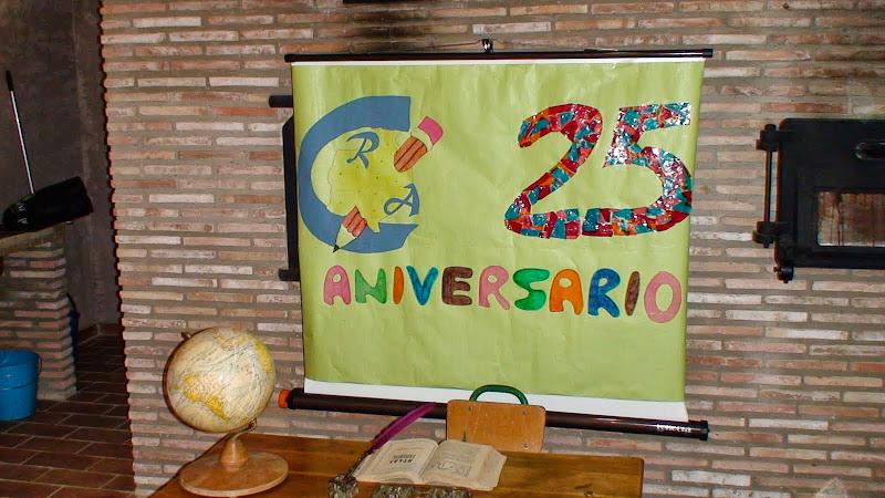 XXV Aniversario de la fundación del CRA Teruel 1