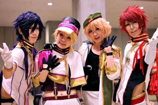 Cosplayers en Japón