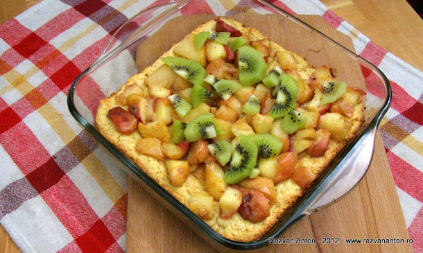 Razvan Anton tarta cu mere