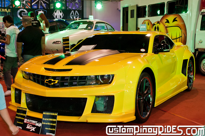 Bomex Widebody Bumblebee Camaro by Autobot Autoworks Custom Pinoy Rides pic1