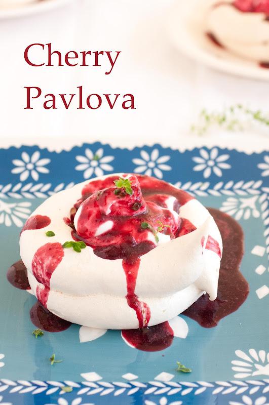 Cherry Pavlova