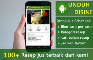 Download aplikasi resep jus