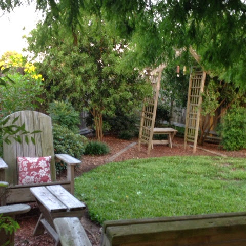 backyard secret garden