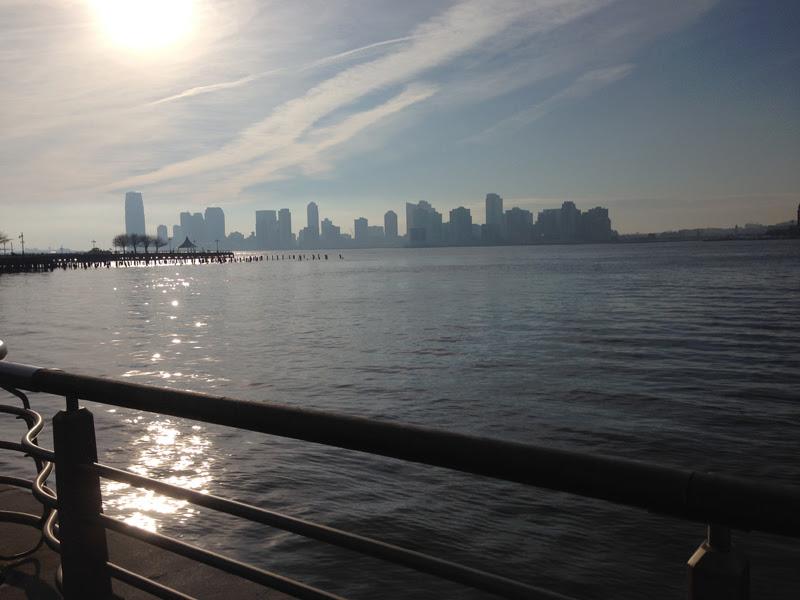 wat te doen in New York: loops langs de Hudson rivier