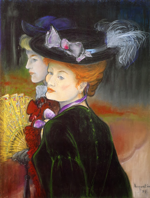 Louis Anquetin - Two Ladies in the Wood