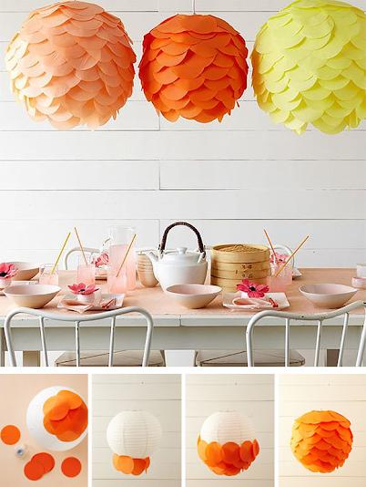 Haz tu l mpara de papel por menos de 1 papelisimo - Peluquerias decoradas por ikea ...