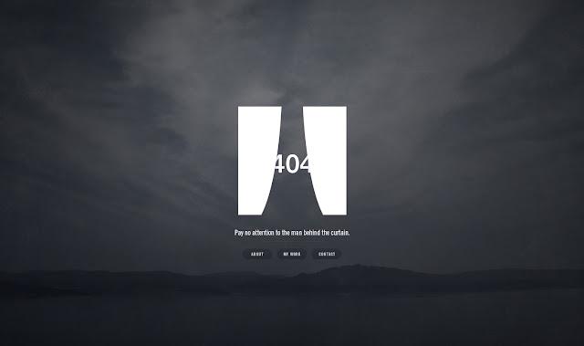 *充滿創意的404錯誤頁面|404 Not Found Error Web page 5