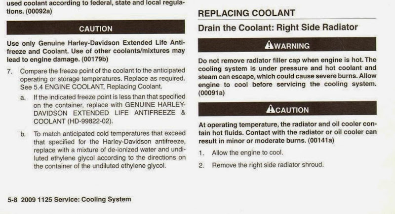 Buell 1125R Motorcycle Forum Coolant Flush Completed BadWeB