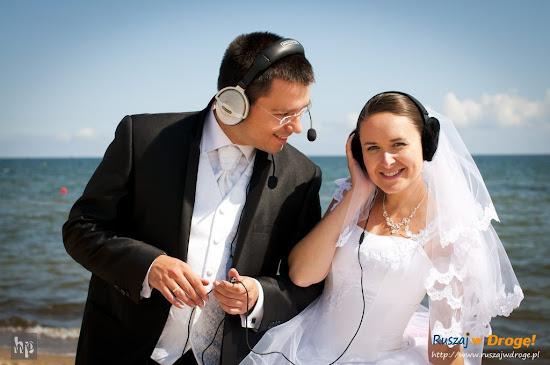 ślub Kasi i Maćka - gadżety w podróży
