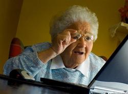 Бабушки любят Интернет