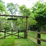 Gate beside Cedar Brush Trackhead (366572)