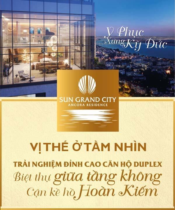 Penthouse Ancora Lương Yên