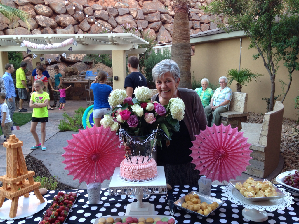 Epic 75th surprise birthday party the style sisters for 75th birthday party decoration ideas