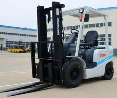 Xe nâng dầu TCM 3 tấn cao 3m 4m Nhật Bản