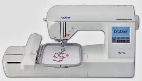 Brother PE700II Embroidery Machine with USB Port