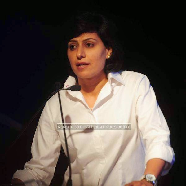 Anjum Chopra during the launch of World Kabaddi League, held at Le Meridian, New Delhi, on July 24, 2014.