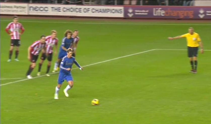 Torres, Sunderland - Chelsea