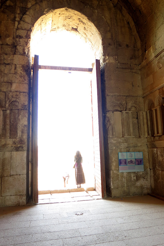 Alicia at Umayyad Palace