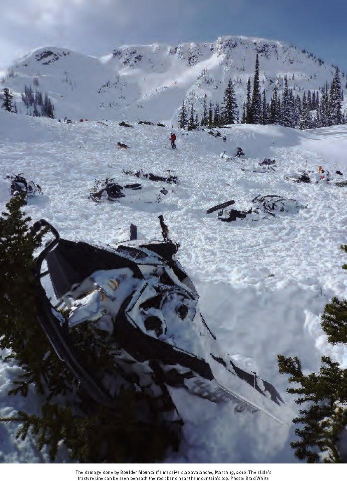 Avalanche Revelstoke BC, secteur Boulder Mountain, Turbo Hill - Photo 1