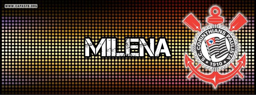 Capas para Facebook Milena