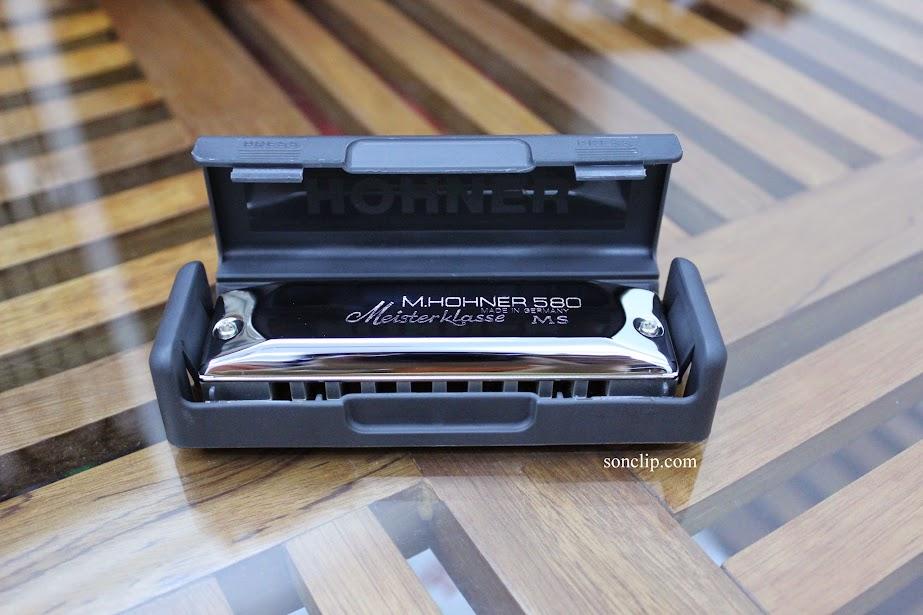 Kèn Harmonica - Hohner Meisterklasse MS (key C)