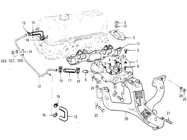 1974 Datsun 620 Parts Diagram