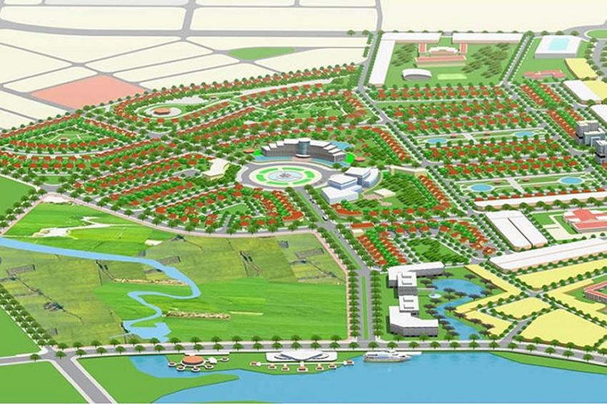 Phối cảnh dự án Hội An Green Village