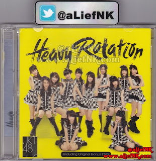 JKT48 Heavy Rotation Type-A | Front Cover [image by @aLiefNK]