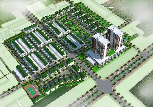 Quy hoạch tông thể dự án Uhome Việt Nhật