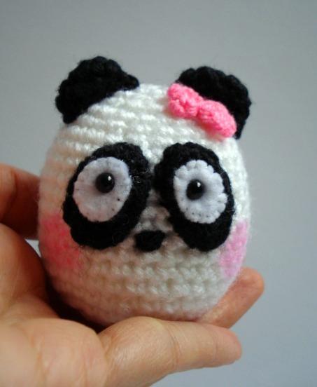 AllSoCute Amigurumis: Crocheted Amigurumi Panda / ?rg? ...