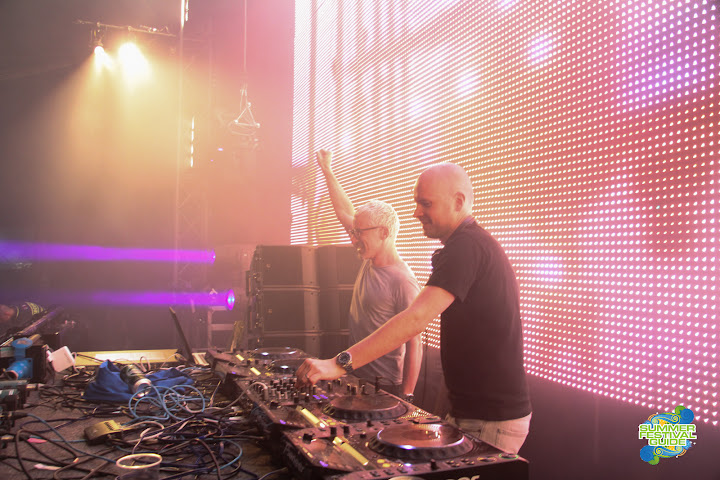 Above & Beyond @ Global Gathering 2012