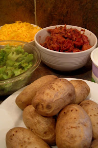 baked potato buffet