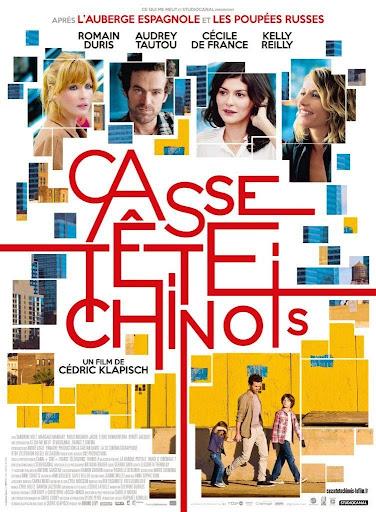 Μία Γαλλίδα στο Μανχάταν (Casse-tete chinois / Chinese Puzzle) Poster
