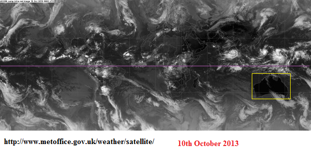 10th oct 2013 global sat pic