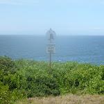 Safety sign in the coastal walk in the Wallarah Pennisula (388001)