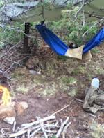 homemade survival bed