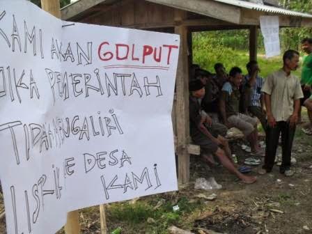 Puluhan Tahun Tanpa  Listrik, Dua Dusun Di Ngawi Tegaskan Pilih Golput