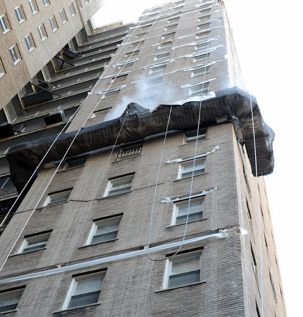 Scaffold rental, scaffolding rental, sidewalk shed, overhead protection, canopy, swing, suspended scaffold, Philadelphia, PA, superior scaffold (215) 743-2200