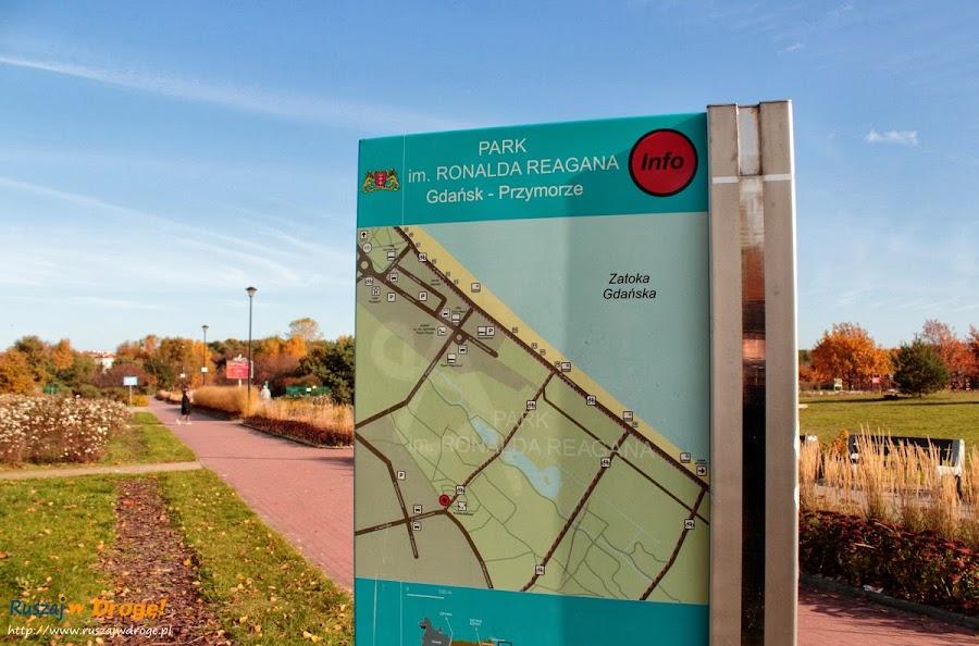 Park Reagana w Gdańsk-Przymorze
