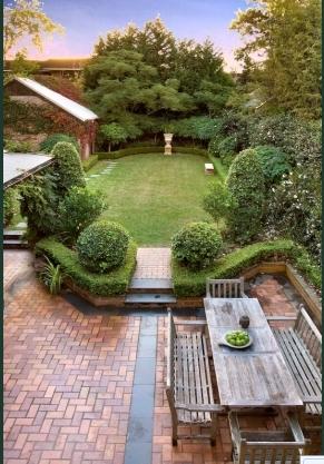 Walloray back garden