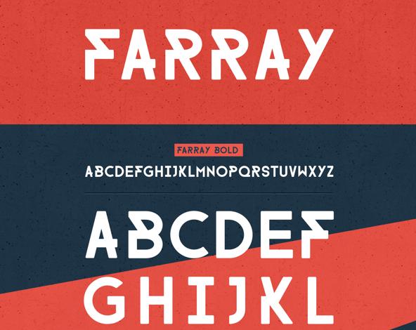 FARRAY FONT Free Fonts