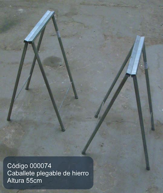 Herramientas en venta caballete plegable de hierro 55cm - Caballetes de hierro ...