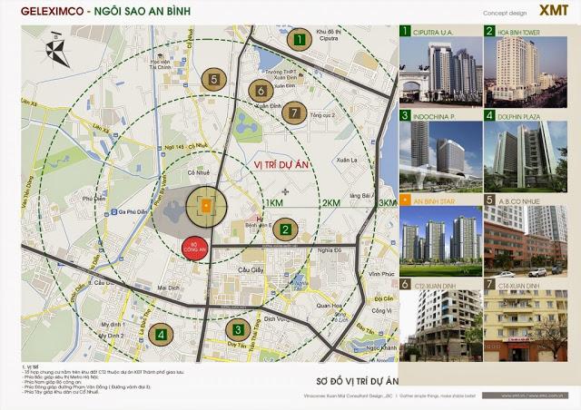 Vị trí đắc địa chung cư An Bình City