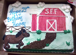 Elaborate Birthday Carrot Cakes