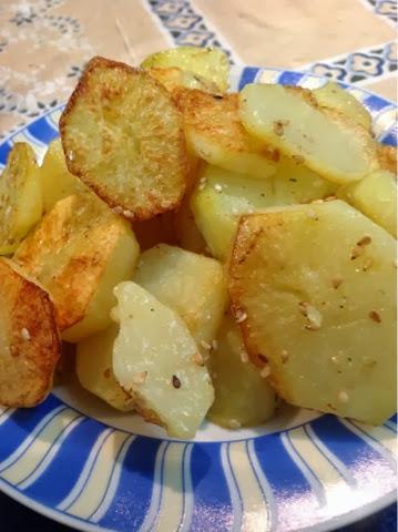 Batatas assadas no Blog Dividindo Experiencias