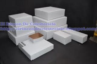 Cajas hechas en cartón cartulina