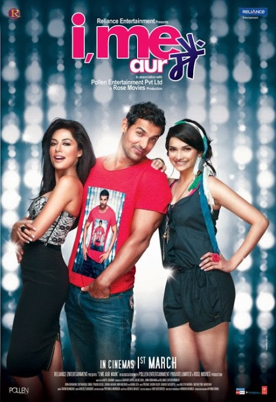 Cover of I, Me aur Main (2013) Hindi Movie Mp3 Songs Free Download Listen Online at Alldownloads4u.Com
