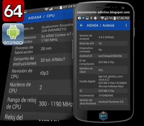 AIDA64 para Android