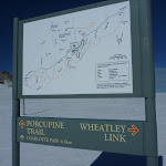 Int of Porcupine Trail and Wheatley Link Track (300799)