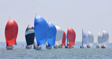 J-Cup regatta sailing off England